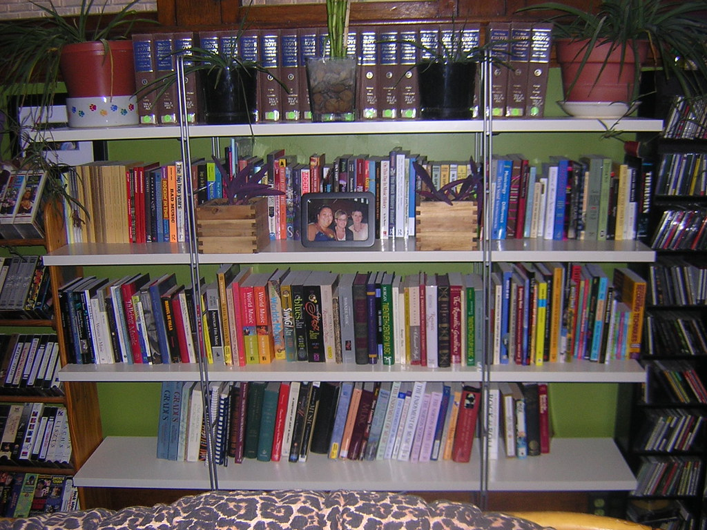 Shelves On Living Room Wall