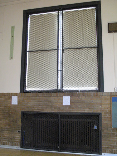 Gym windows and radiators northwood elementary royal oak for Northwood windows