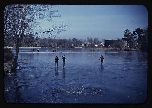 Skating, vicinity of Brockton, Mass.  (LOC) | by The Library of Congress