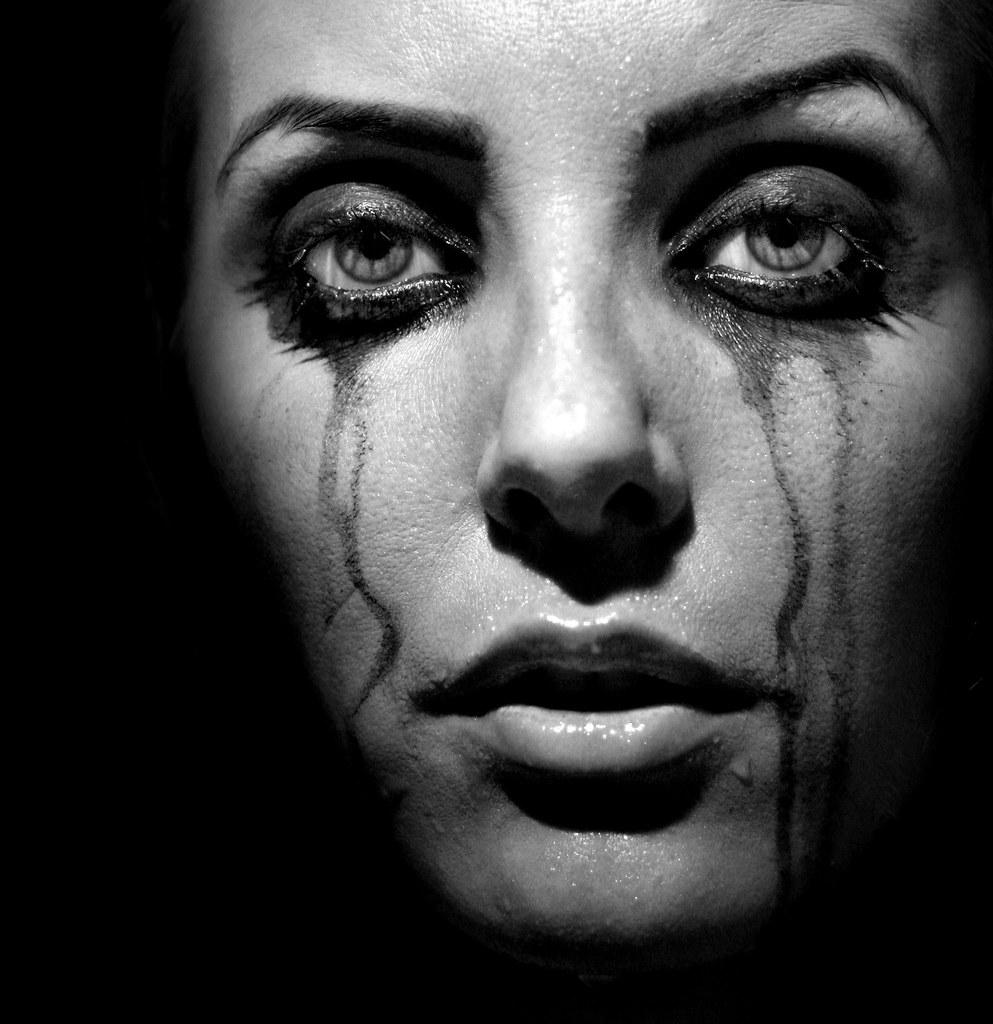 Fashion week Crying Girl tumblr photography for woman
