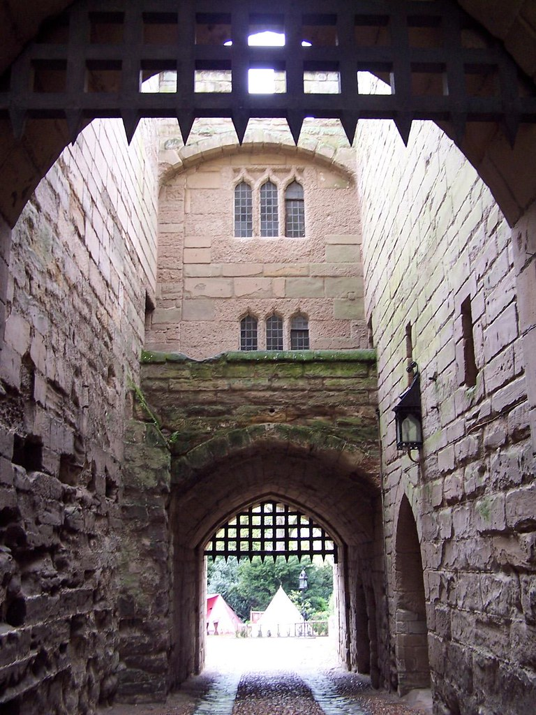 Barbican Of Warwick Castle One Lucky Guy Flickr