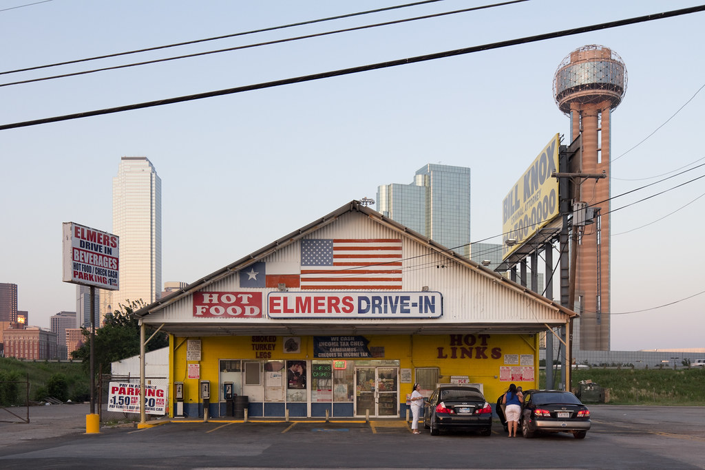 elmers drive in downtown dallas david schalliol flickr. Black Bedroom Furniture Sets. Home Design Ideas