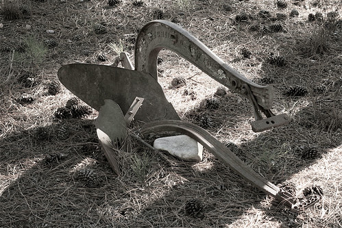 old plow | by Stephen Howard