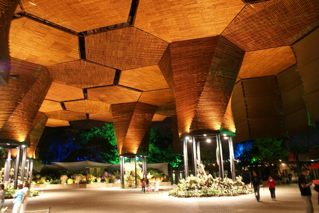 Orquideorama medellin colombia atom arquitectura flickr for Bodas en el jardin botanico medellin