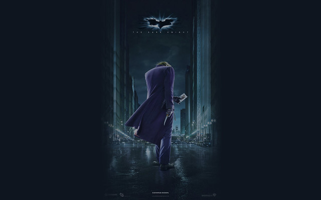 Dark Knight International Joker Poster Custom Wallpaper