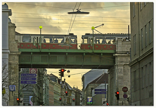 Tramway through Vienna | by pixel_unikat