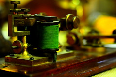 A old telegraph machine | by tibchris