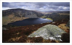 Above Lough Tay | by HaukeSteinberg.com