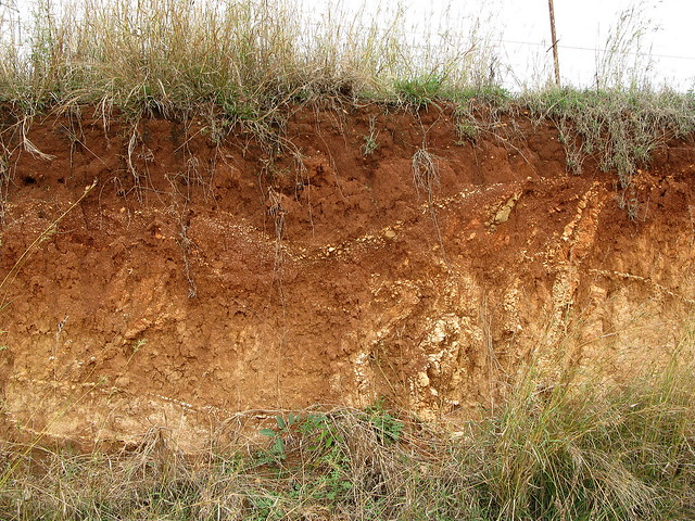 Soil profile flickr photo sharing for Soil is an example of