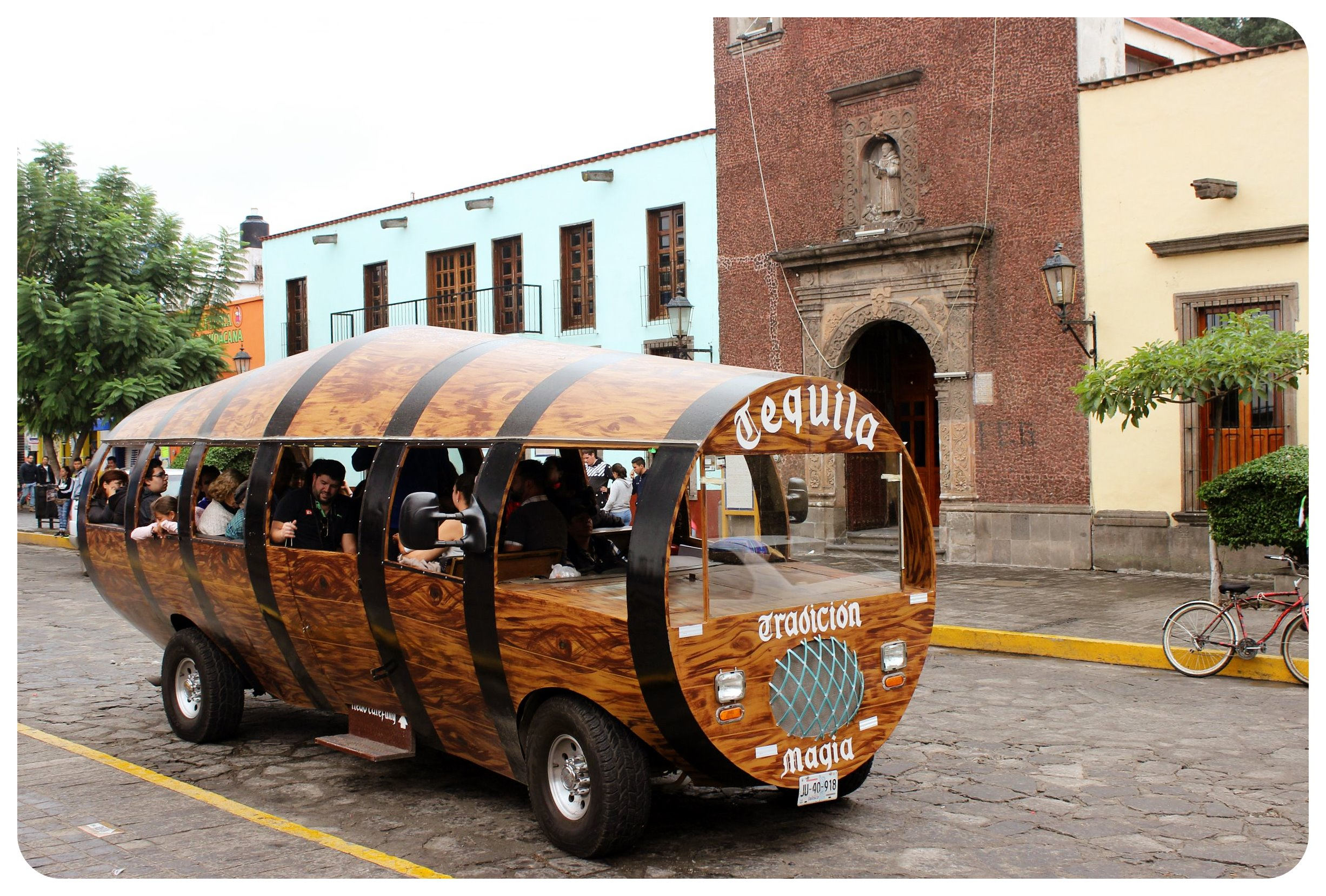 tequila barrel car