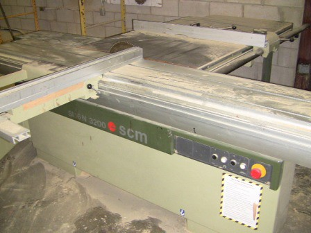 Used Scm Sliding Table Saw Flickr