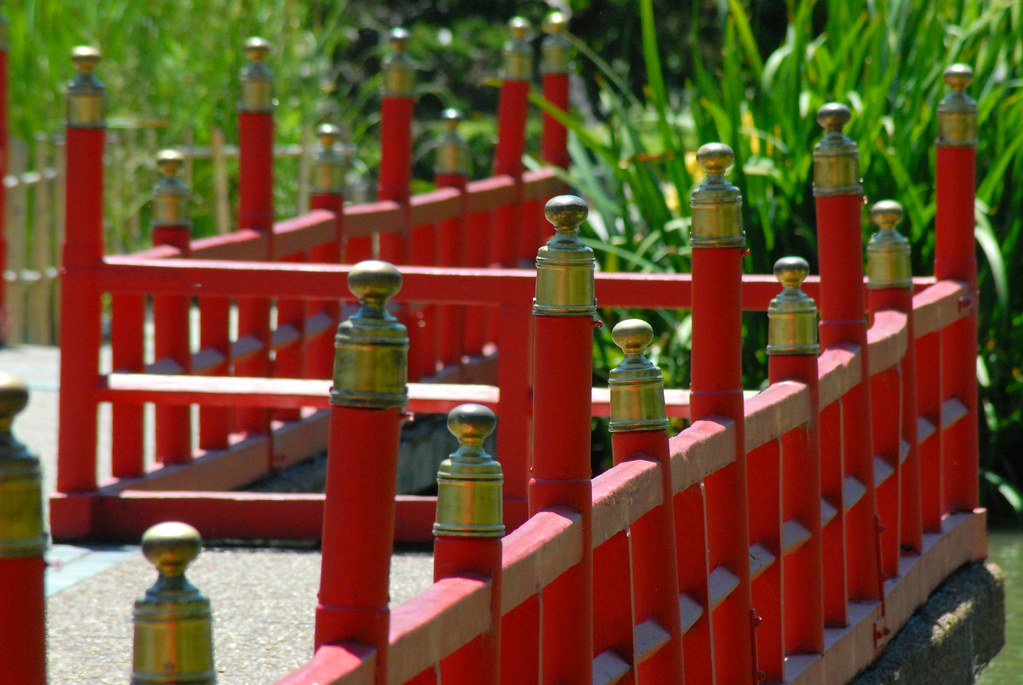... Japanese Garden Fence, Buenos Aires | By StevenMiller