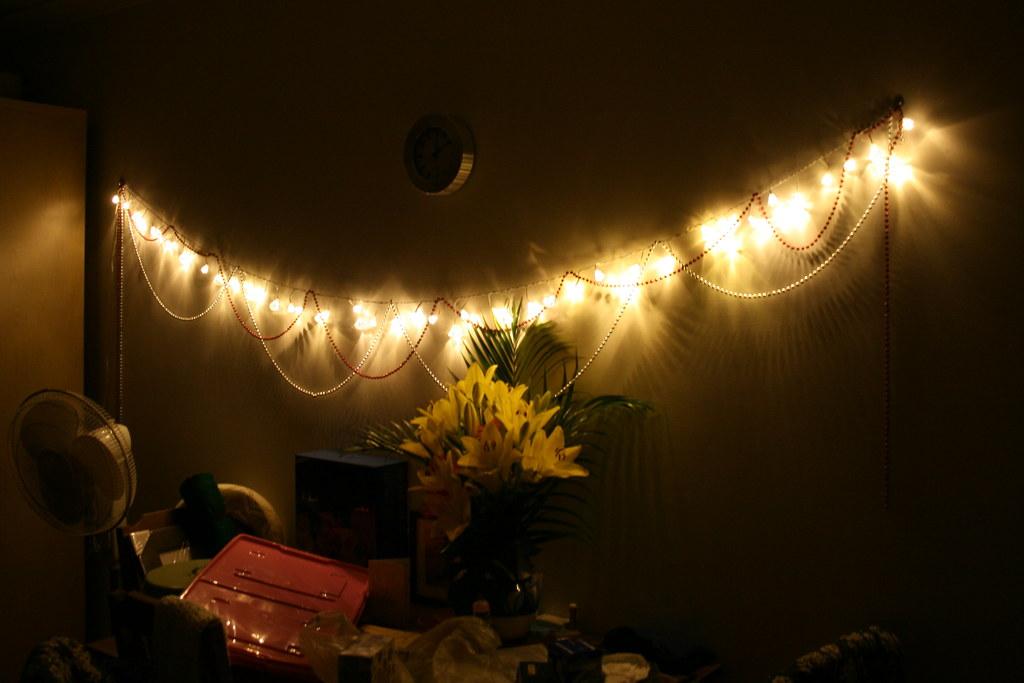 Christmas Lights   A new string of halogen Christmas lights!…   Tama ...