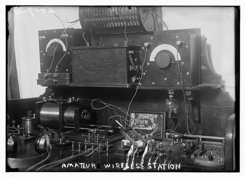 Amateur wireless station  (LOC) | by The Library of Congress