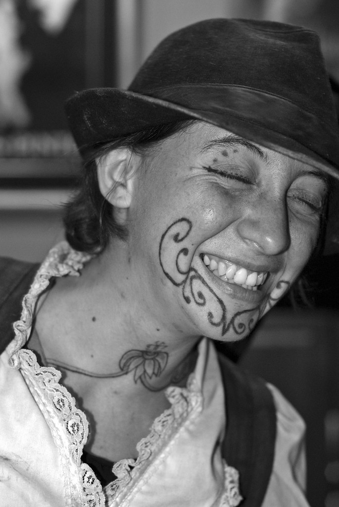 New orleans facial tattoos