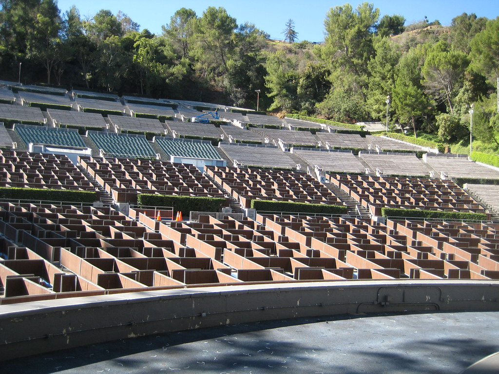 View from the stage at the hollywood bowl 1 the view for Terrace 2 hollywood bowl