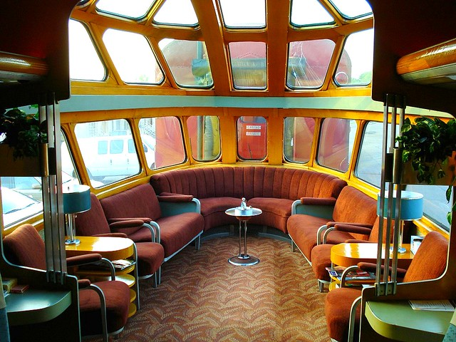 milwaukee road 261 skytop observation lounge car from farm flickr. Black Bedroom Furniture Sets. Home Design Ideas