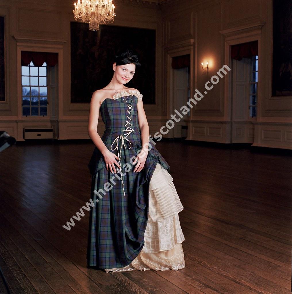 Tartan Evening Dress | Heritage Of Scotland | Flickr