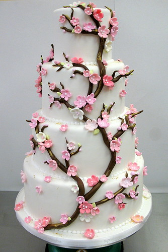 Another Cherry Blossom Wedding Cake | by Jamie Anderson