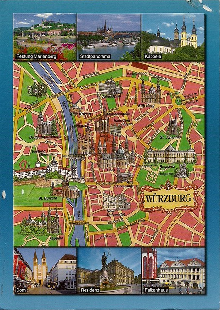 Wurzburg Germany map Carrie Flickr