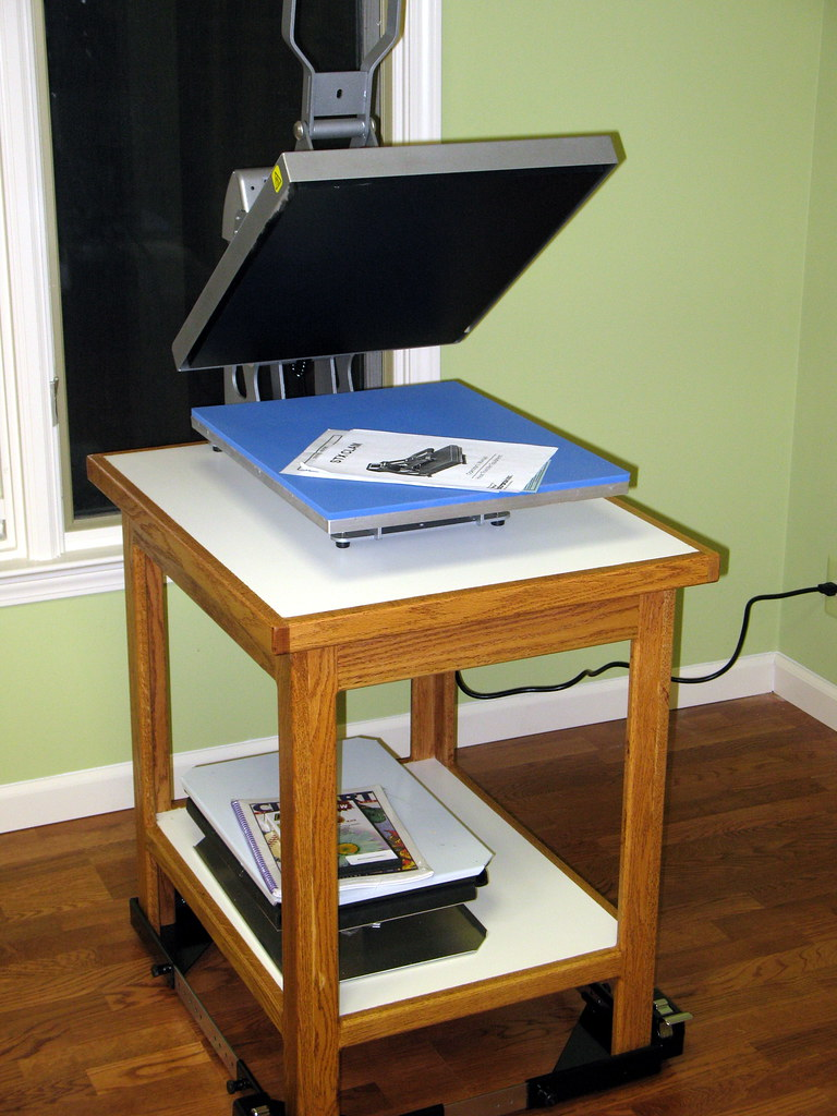 Heat Press Amp Table Timothy Metcalf Flickr