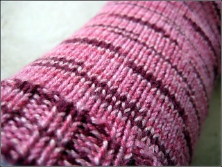 Pink Panda Silk | by Twisted Knitter