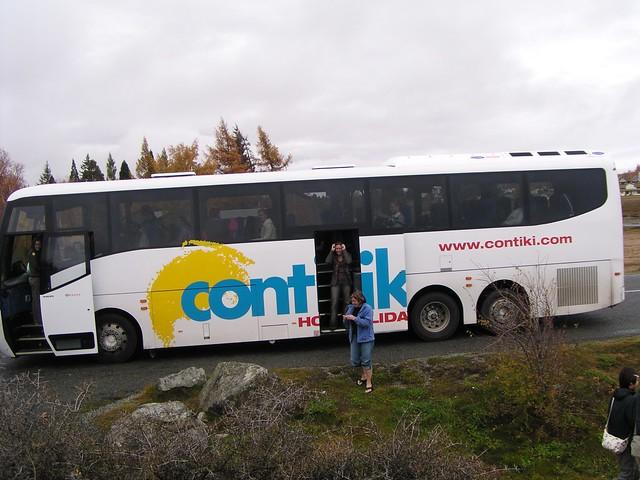 Contiki Tour Sign In
