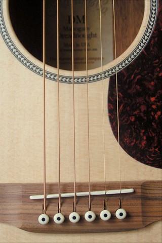 IPhone Wallpaper Acoustic Guitar