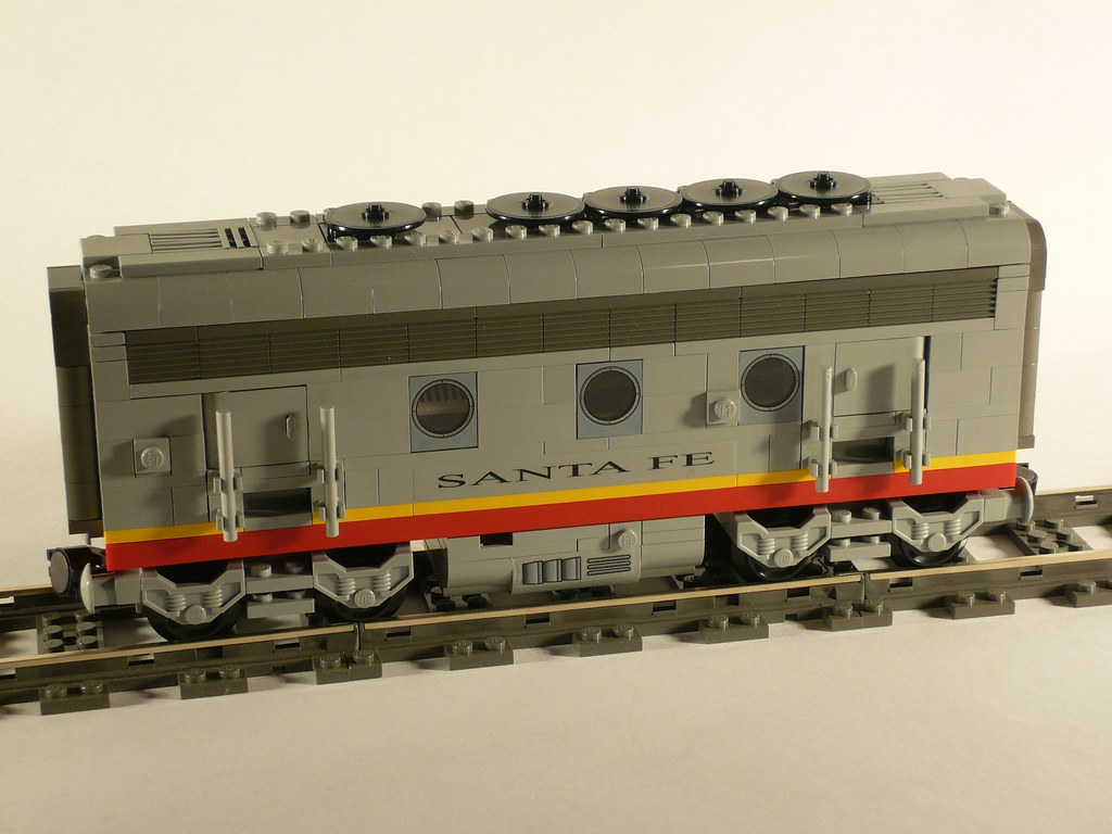 Lego Santa Fe Super Chief B Unit James Mathis A B Unit T Flickr