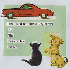 cat and dog burglars | by jena ardell