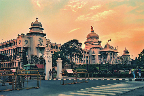 Vidhana Soudha in Bangalore, Karnataka, India | by Lalit Dalal