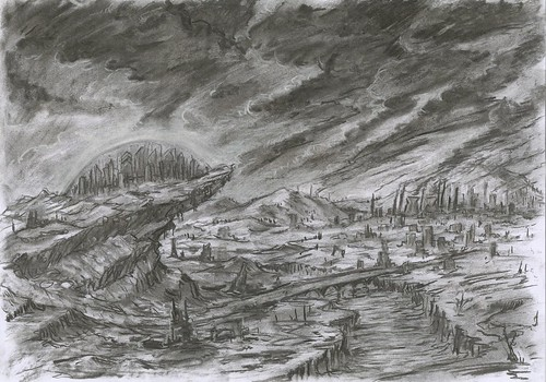 Castra on the Hill Charcoal]