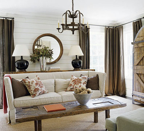 From Apartment Therapy: House Beautiful Living Room Inspir