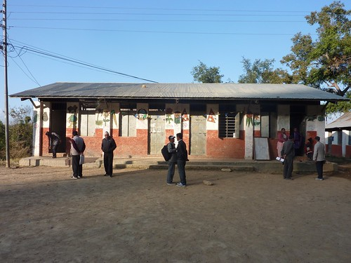 Biswamitra School building where Nepal Library Foundation funded library is housed | by nepallibraryfoundation