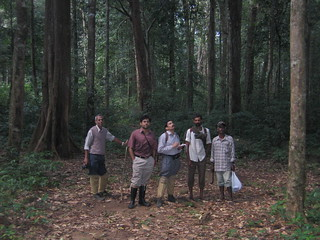 Research team at Poonkavanam forests | by v s raam (on/off)