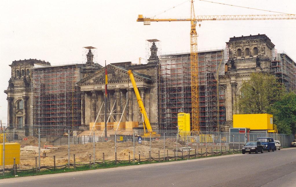Berlin, Reichstag, Under Reconstruction | Taken in May ...