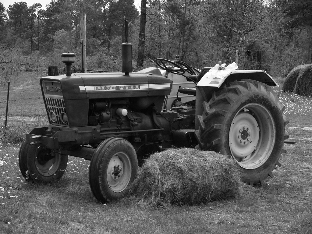 Ford Tractor in Black and White | Corry Young | Flickr