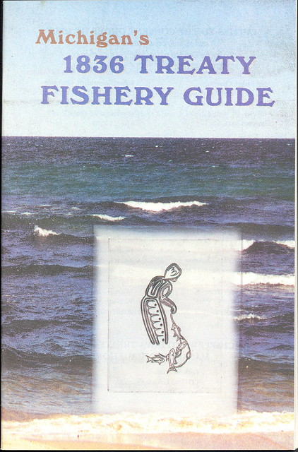 Hunting and fishing michigan collectible indian treaty of for Michigan dnr fishing guide