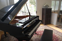 Yamaha Grand @ Home | by randomguru