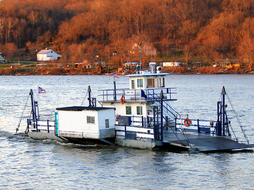 Ferry Crossing the Ohio at Augusta, KY | by angie.doyle