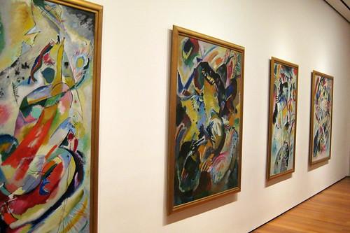 Nyc Moma Vasily Kandinsky S Four Panels For Edwin R Ca