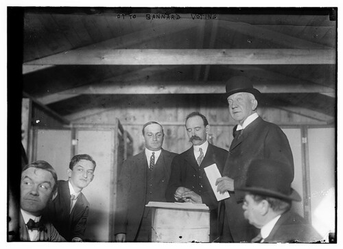 Otto Bannard Voting  (LOC) | by The Library of Congress