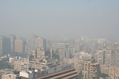 Cairo Air Pollution with smog - Pyramids1 | by ninahale