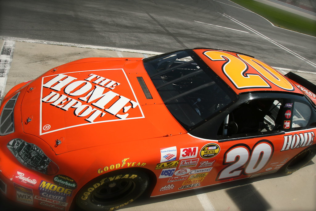 Home Depot Race Car