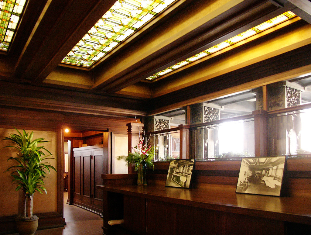 chicago frank lloyd wright own house studio oak park c flickr. Black Bedroom Furniture Sets. Home Design Ideas