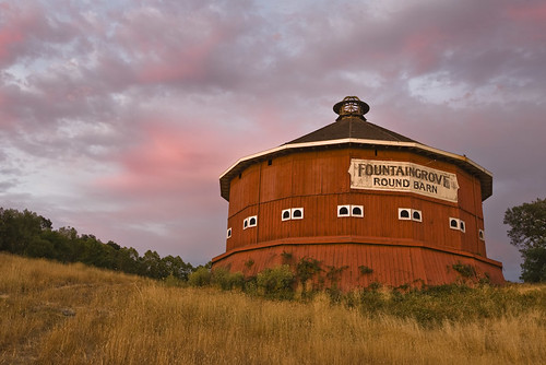 The Round Barn - West Side | by Tom Moyer Photography