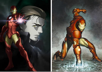 080827 - 2010春天放送日本MADHOUSE動畫版《鋼鐵人 Ironman》造型曝光、好萊塢電影《七龍珠》首支預告確定10/17首播!