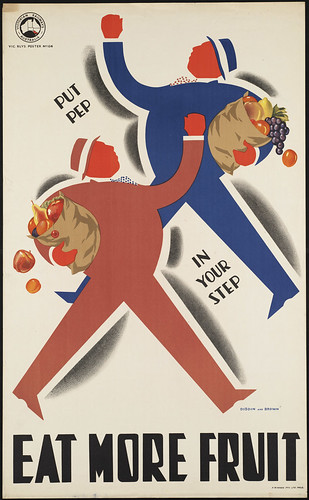 Eat more fruit. Put pep in your step | by Boston Public Library