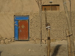 Baghlan doorway, Afghanistan | by spangleddrongo