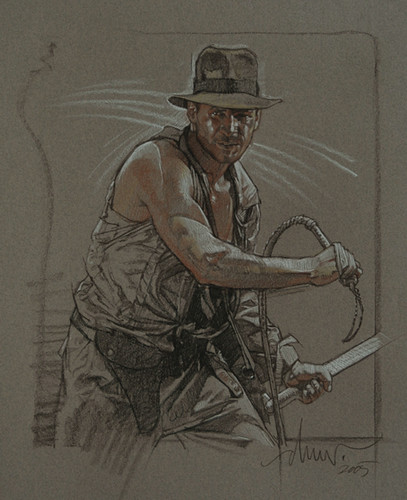 Drew Struzan Drawings Drew Struzan Indiana Jones